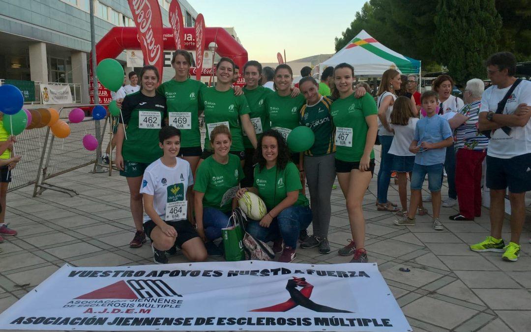 Nuestro equipo femenino en la carrera solidaria por la esclerosis múltiple