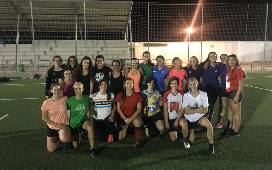 El equipo Femenino vuelve a la liga