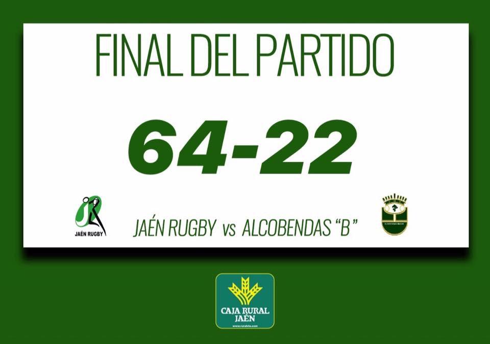 Jaén Rugby rompe la barrera de 60 puntos