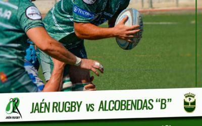 Jaén Rugby se enfrenta a Alcobendas B tras la jornada de descanso