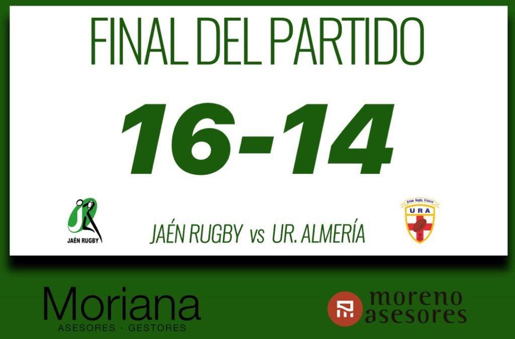 Jaén Rugby abre la segunda vuelta con victoria ante un Almería serio y muy duro en defensa