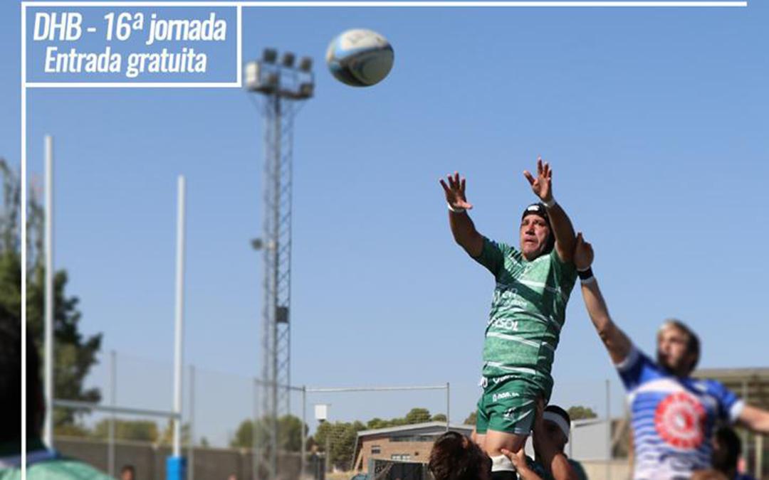 Jaén Rugby se enfrenta a Olímpico Pozuelo en la 16ª Jornada de Honor B