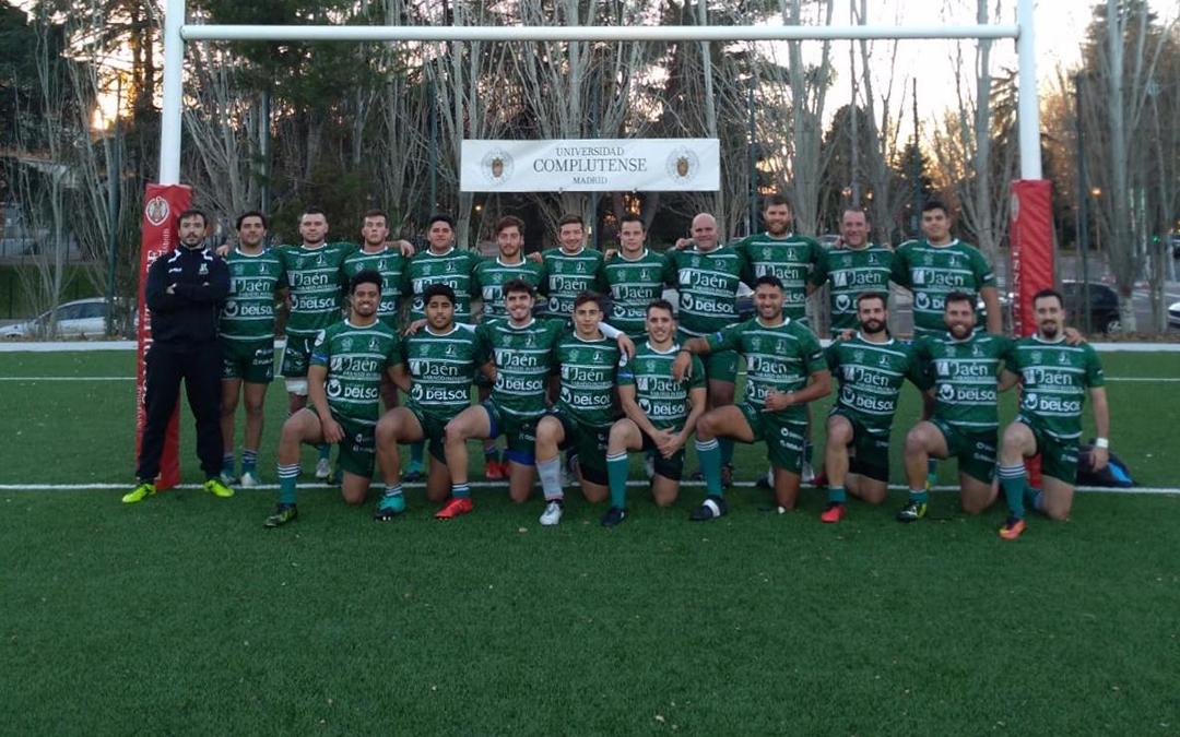 Jaén Rugby empieza el año con victoria