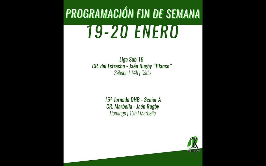 Programación del fin de semana 19-20 de Enero