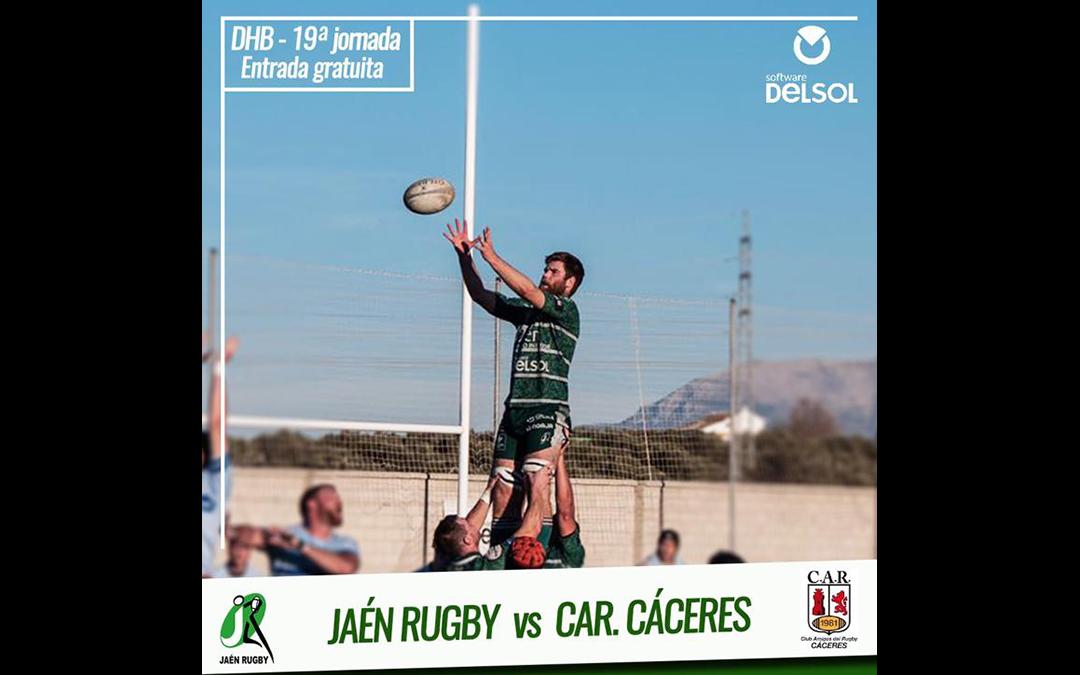 Penúltimo partido en casa de Jaén Rugby