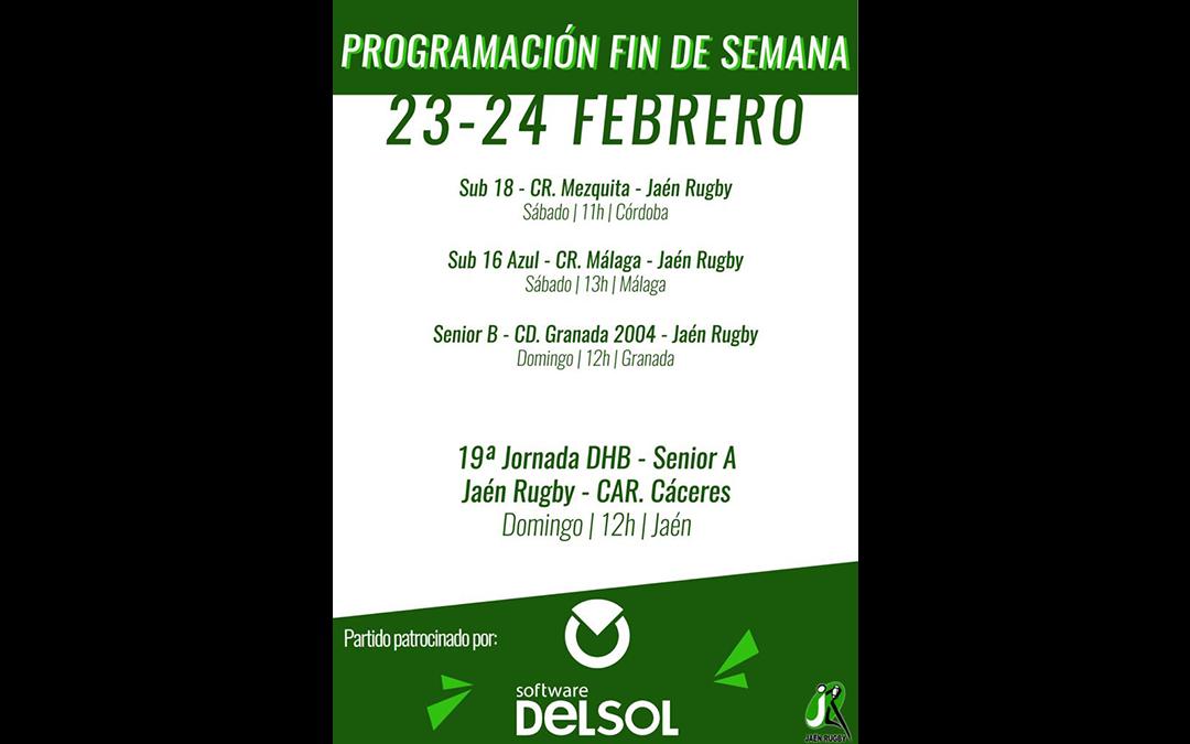 Programación del fin de semana del 22-23 de Febrero