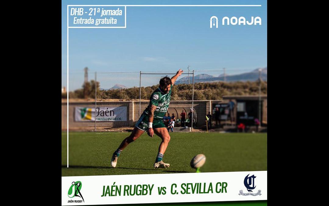 Jaén Rugby recibe al líder en Las Lagunillas