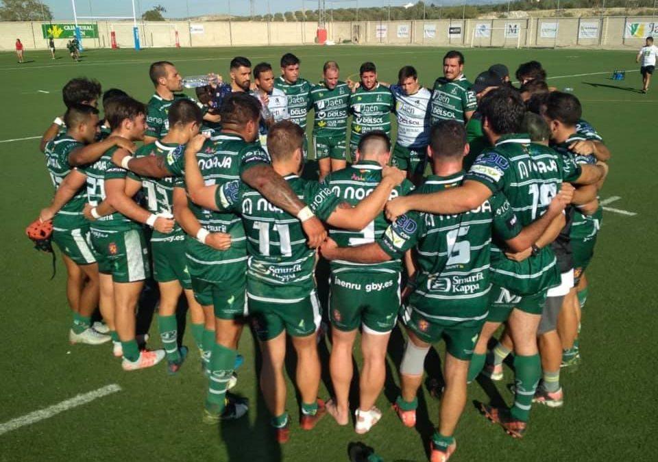 Jaén Rugby ofrece el mejor homenaje al fallecido César Carazo: tercera victoria y diez ensayos