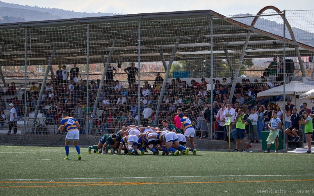 Primer partido de la temporada y victoria de Jaén Rugby ante uno de los rivales más fuertes de la categoría