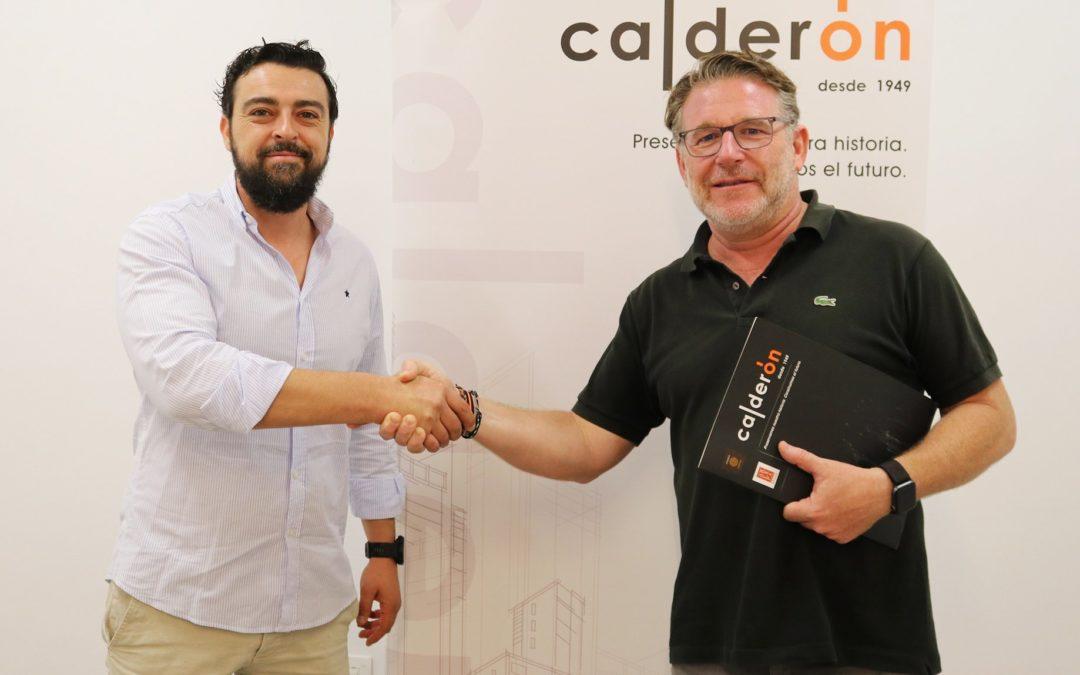 Construcciones Calderón y Jaén Rugby suscriben acuerdo de colaboración