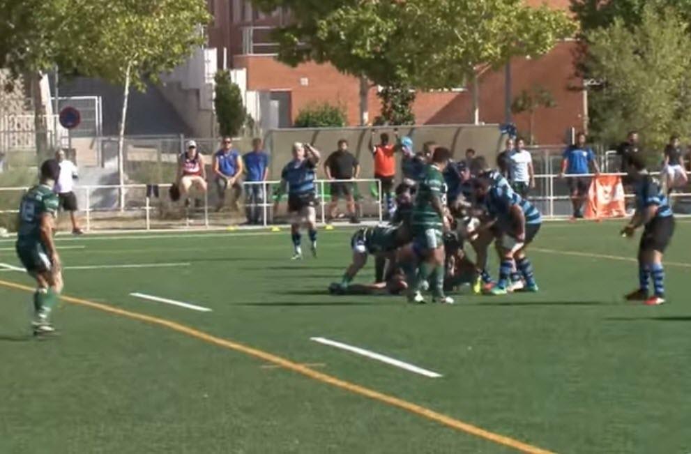 Jaén Rugby paga sus errores ante el líder con la primera derrota de la temporada