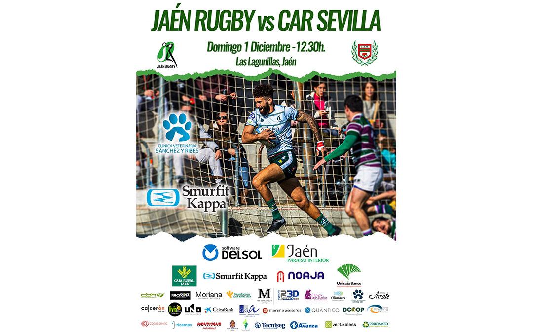 Décima jornada de DHB Jaén Rugby frente a CAR Coanda Sevilla