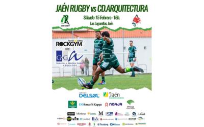 Jornada 18: Jaén Rugby vs C.D. Arquitectura