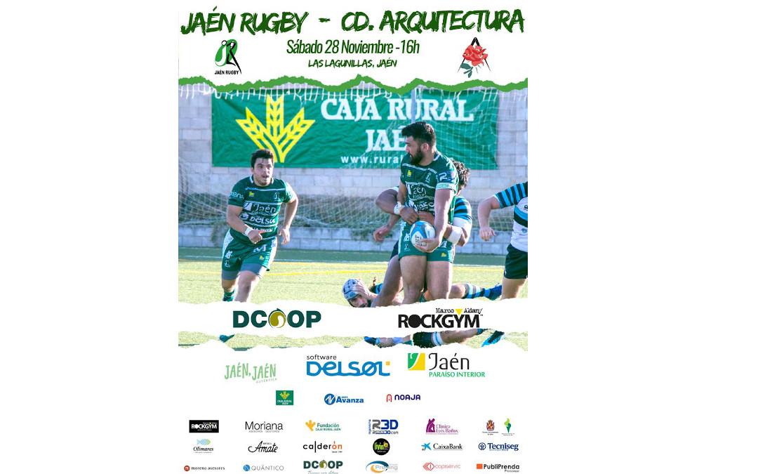 Jaén Rugby se enfrenta a CD Arquitectura en Las Lagunillas