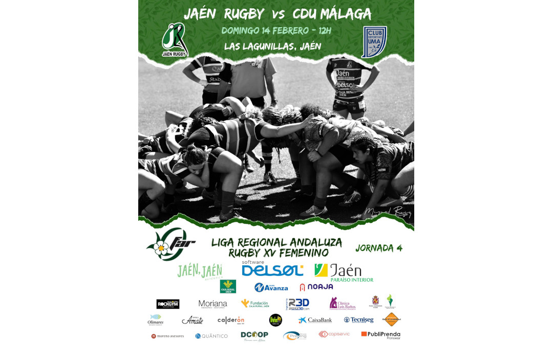 Jaén Rugby Femenino se enfrenta a CDU Málaga
