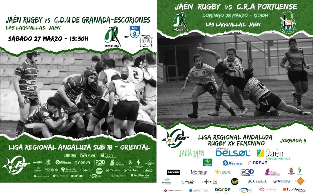 Vuelve el Rugby a las Lagunillas con dos partidos: Sub18 y Femenino