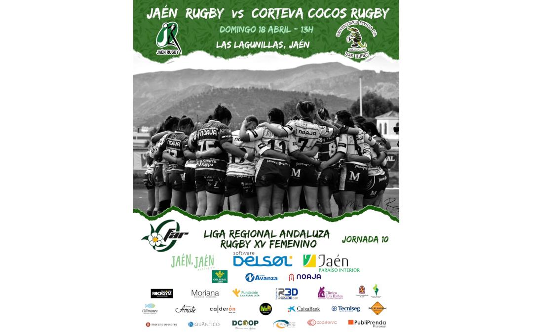 Jaén Rugby se enfrenta en casa a Corteva Cocos Rugby